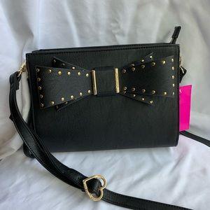 Betsey Johnson bow beautiful Crossbody Bag